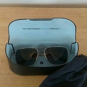 Salt Accessories - Salt Aviator Sunglasses - Titanium-Polarized Mens